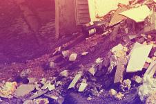 Снос дома и вывоз мусора